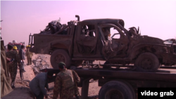 Взрыв автомобиля в предместьях Кабула, декабрь 2014