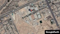 A satellite image time series shows the development of the site at the King Abdulaziz City for Science and Technology where Saudi Arabia is building its first nuclear reactor.