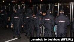 Мәскәүдә Корбан гаетенә килгәннәрне тикшереп үткәрү капкалары