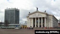 Плошча Леніна ў Гомлі