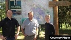 Koordinatori projekta Almir Peštek, Muris Čičić i Jasmina Osmanković