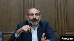 Лідер вірменських протестів Нікол Пашинян