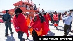 Migranţi în Spania