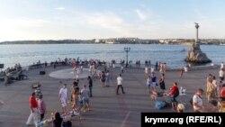 Набережная Севастополя, архивное фото