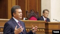 Камнем преткновения между премьером и президентом Украины стал вопрос о вступлении в НАТО