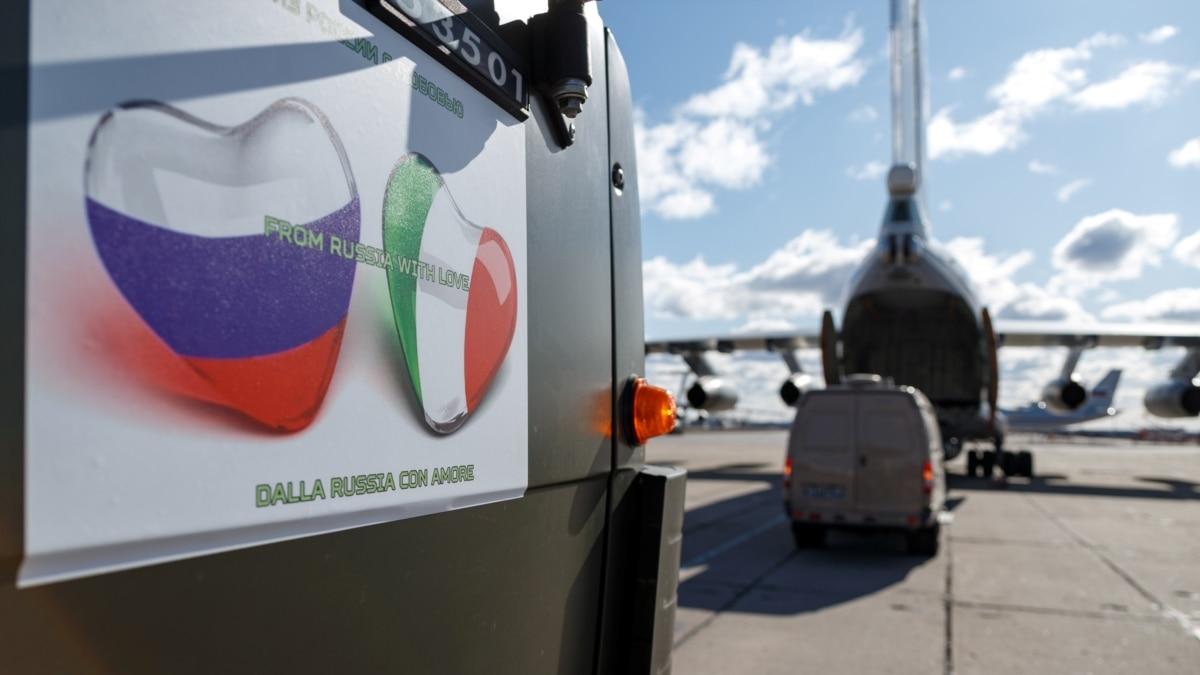 Москва продолжает давить на Рим после «гуманитарной поддержки»: помогите снять санкции