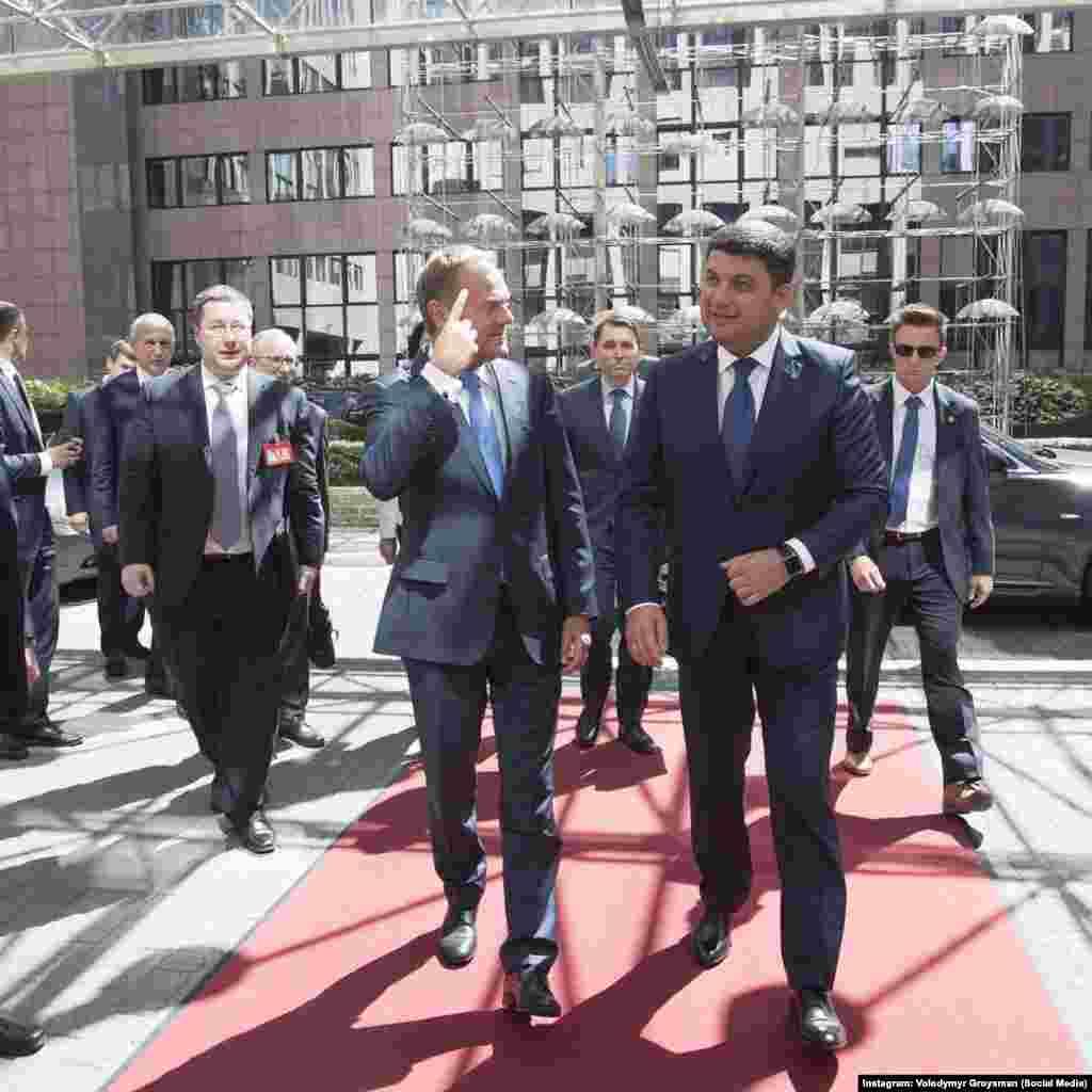 Із головою Європейської ради Дональдом Туском