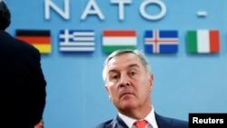 Мило Джуканович у НАТО, фото 19 травня 2016 року