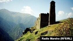 Chechnya --Mountain, tower