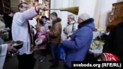 Католики святкують Великдень у Мінську, Білорусь