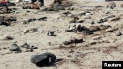 Mesto eksplozije u mestu Adenu
