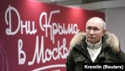 Владимир Путин, Москва, 18 марта 2021 года.