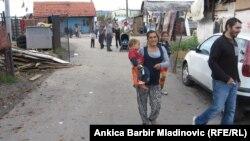 Romsko naselje nadomak Zagreba, arhiv
