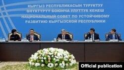 Заседание Национального совета по устойчивому развитию. 3 апреля 2017 года