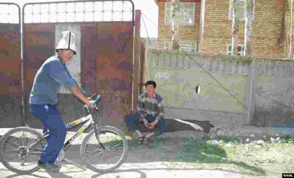 Кыргызстан. Ошская область. Село Папан. #7