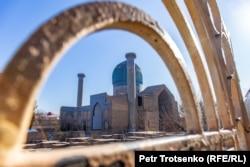 Guri Amir Mausoleum in Samarkand