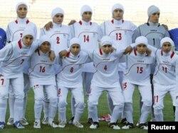 İranın futbol üzrə qadınlardan ibarət milli komandası
