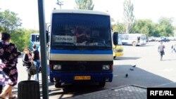 Иллюстрационное фото. Маршрутное такси в Донецке, сентябрь 2016 года