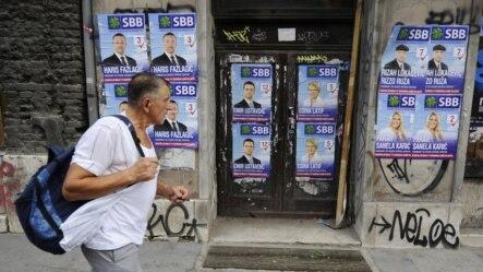 Predizborni plakati, Sarajevo, oktobar 2012.