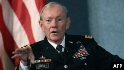 Chairman of the U.S.Joints Chief of Staff General Martin Dempsey condemned the course.