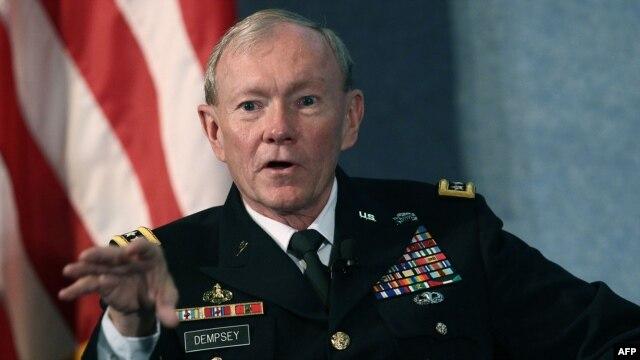 ژنرال مارتین دمپسی، رئیس ستاد مشترک ارتش آمریکا
