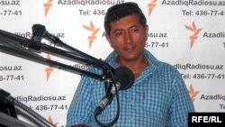 "Bakuwda ýerleşýän ""Nebiti öwreniş merkeziniň"" ýolbaşçysy Ilham Şaban."
