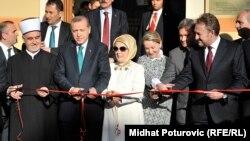 Presidenti turk, Erdogan gjatë vizitës në Bosnje