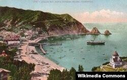 Авалон Бэй, Остров Каталина, Калифорния, США 1910 год