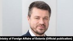 Министр иностранных дел Эстонии Урмас Рейнсалу