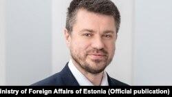 Урмас Рейнсалу. Эстониянын тышкы иштер министри.