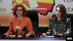 Портпаролката на Државната изборна комисја, Љупка Гугучевска.