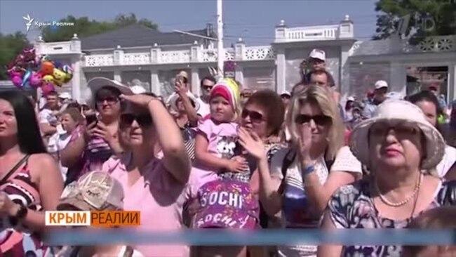 Кто едет в Крым на отдых? (видео)