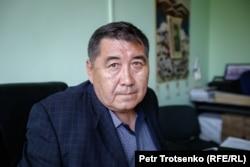Ермурат Бапи, журналист, глава оппозиционного издания «Дат». Алматы, 15 июля 2020 года