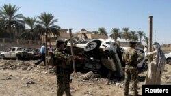 Pamje nga një sulm i mëparshëm në qytetin Hilla në Irak