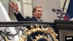 Vaclav Havel în decembrie 1989