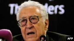 اخضر ابراهیمی، نماینده ویژه سازمان ملل در امور سوریه