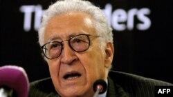 Міжнародний посланець із Сирії Лахдар Брагімі