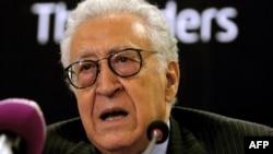 Лахдар Брахими, специальный представитель ООН и Лиги арабских государств по ситуации в Сирии.