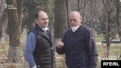 30 березня «Схеми» зафіксували зустріч бізнесмена Олександра Чумака та Петра Багрія, фігуранта кількох закритих кримінальних проваджень ОГПУ та ДБР