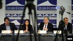 Переговоры по сирийскому вопросу в Женеве. 23 января 2014 года.