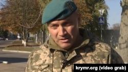 Володимир Семків, командир 140 окремого розвідувального батальйону морської піхоти Збройних сил України