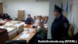 У приміщенні 223-ї ОВК, 2 листопада 2012 року