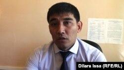 Мухтар Сеитжаппаров, заместитель управления по делам семьи, детей и молодежи Южно-Казахстанской области.
