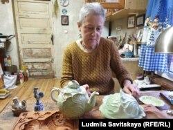 Нина Пахалова и ее керамика