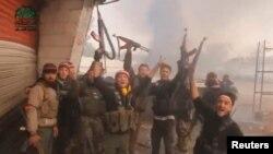 Сирийские повстанцы в Дамаске