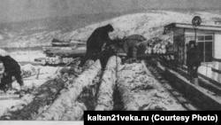 Лесопилка. 1940-е годы