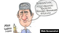 Yosh o'zbek karikaturachisi Jasur Rahimov birinchilardan bo'lib frantsuz satirik jurnaliga qilingan hujumni qoralab chiqdi.