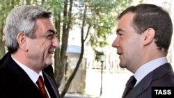 Sarkisyan Medvedevlə görüşəcək