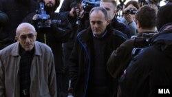 Архивска фотографија: Пратеникот Љубен Арнаудов пред суд