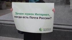 """""""Молодежное Яблоко"""" не верит Путину"""